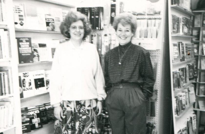 Audette Landry et Irène Durand