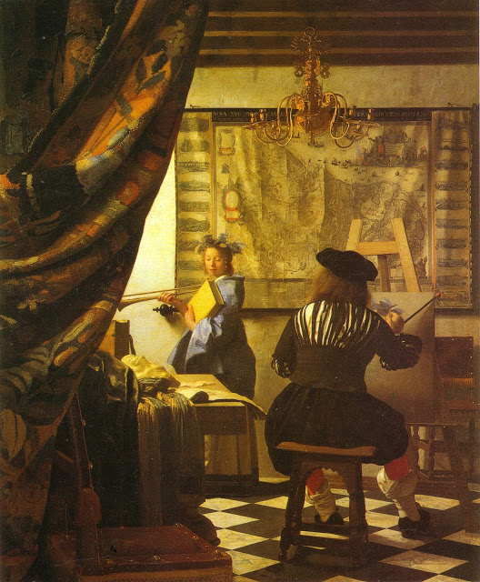 Vermeer - L'atelier